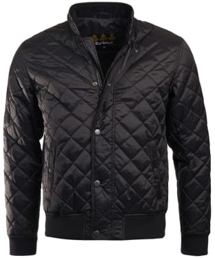 Men's Barbour Edderton Quilted Jacket - Black