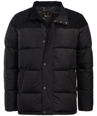 Men's Barbour Spean Quilted Jacket - Black