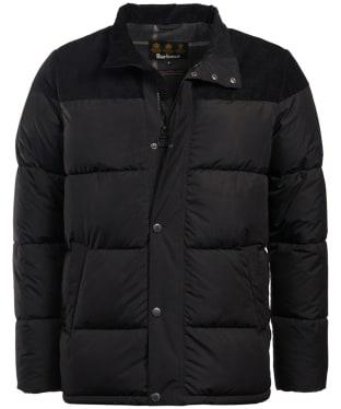 Men's Barbour Spean Quilted Jacket - Black