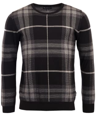 Men's Barbour Tartan Jacquard Crew Neck Sweater