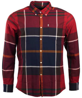 Men's Barbour Dunoon Shirt - Red