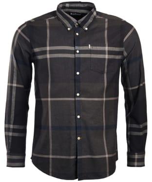 Men's Barbour Dunoon Shirt - Graphite