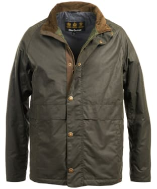 Men's Barbour Sark Waxed Jacket - Sage