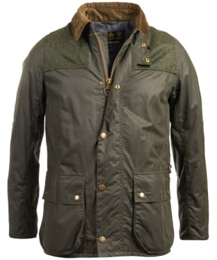 Men's Barbour Wight Waxed Jacket - Sage