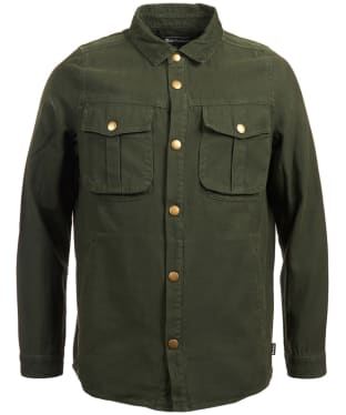 Men's Barbour Deck Overshirt - Seaweed