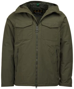 Men's Barbour Harlech Waterproof Jacket - Olive