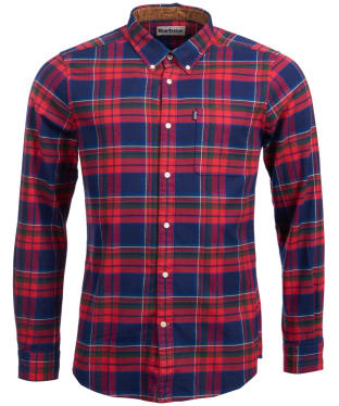 Men's Barbour Endsleigh Winter Weight Highland Check Shirt