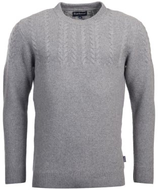 Men's Barbour Crastill Cable Knit Crew Neck Sweater