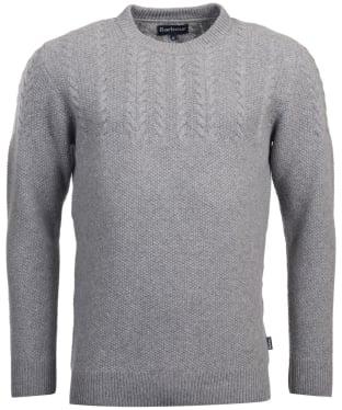 Men's Barbour Crastill Cable Knit Crew Neck Sweater