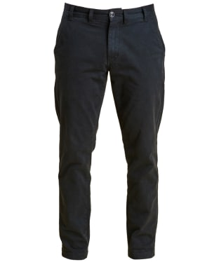 Men's Barbour Neuston Stretch Brushed Twill Trousers - Navy