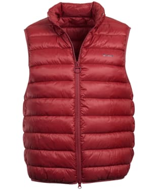 Men's Barbour Bretby Gilet - Biking Red