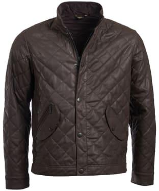 Men's Barbour Peter Leather Jacket