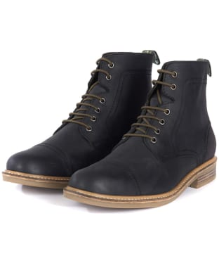 Men's Barbour Dalton Boots - Black