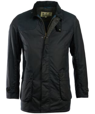 Men's Barbour Cartmel Wax Jacket - Navy