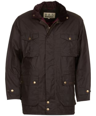 Men's Barbour Newcastle Wax Jacket - Peat