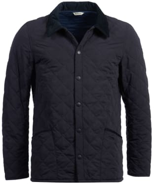 Men's Barbour Bridle Quilted Jacket - Navy