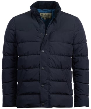 Men's Barbour Stevenson Quilted Jacket - Navy