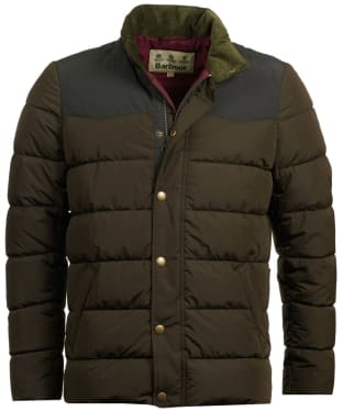 Men's Barbour Stevenson Quilted Jacket - Olive