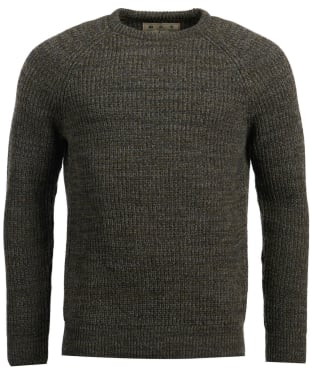 Men's Barbour Horseford Crew Neck Sweater - Olive