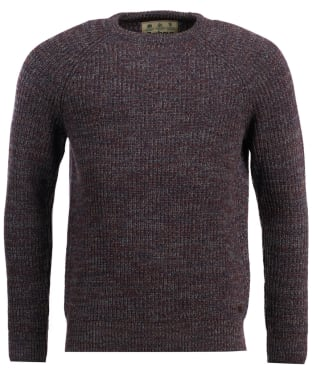 Men's Barbour Horseford Crew Neck Sweater - Merlot