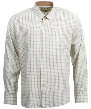 Men's Barbour Charlton Wool Mix Shirt - Neutral