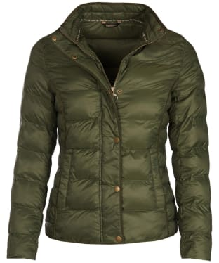 Women's Barbour Gondola Quilted Jacket - Olive
