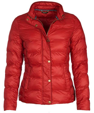 Women's Barbour Gondola Quilted Jacket - Chilli Red