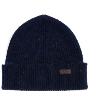 Men's Barbour Lowerfell Donegal Beanie Hat - Navy