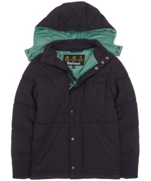 Boy's Barbour Fairfield Jacket, 10-15yrs - Navy