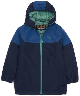 Boy's Barbour Troutbeck Waterproof Jacket, 10-15yrs - Navy
