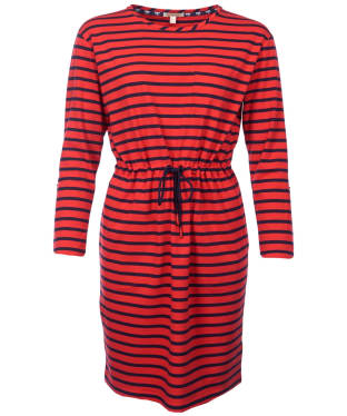 Women's Barbour Newquay Dress - Red / Navy
