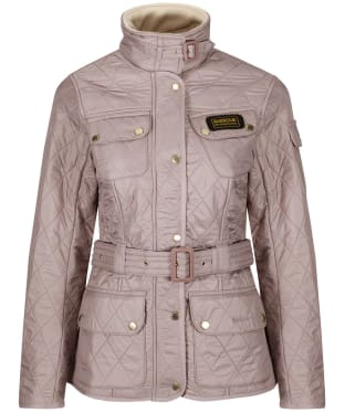 Women's Barbour International Polarquilt Jacket - Latte