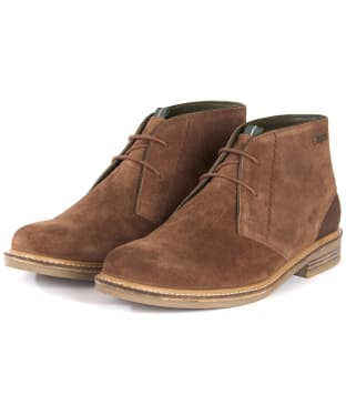 Men's Barbour Readhead Chukka Boots - Tobacco Suede