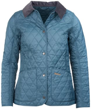 Women's Barbour Annandale Quilted Jacket - Eucalyptus
