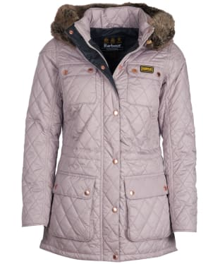 Women's Barbour International Enduro Quilt - Latte