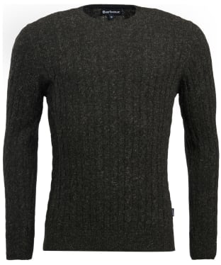 Men's Barbour Essential Cable Crew Neck Sweater