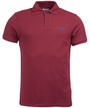 Men's Barbour International Essential Polo - Port