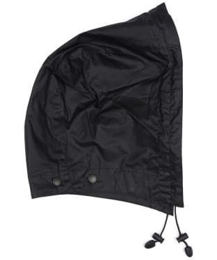 Barbour Lightweight Wax Hood - Black