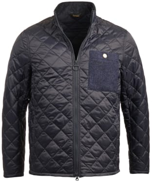 Men's Barbour Abaft Quilted Jacket - Navy