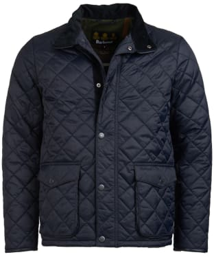 Men's Barbour Evanton Quilted Jacket - Navy