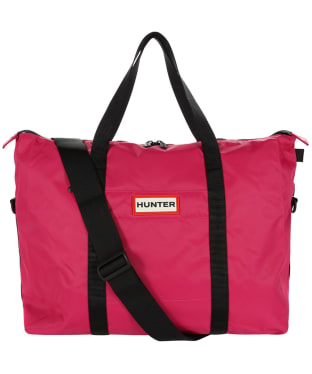 Hunter Original Weekender Bag - Bright Pink