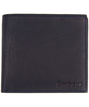 Men's Barbour Wallet and Coin Holder - Navy