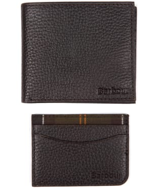 Men's Barbour Wallet and Cardholder Giftset