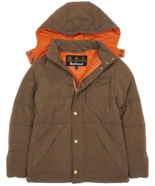 Boy's Barbour Fairfield Jacket, 2-9yrs - Clay