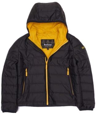 Boy's Barbour International Locking Hooded Jacket, 2-9yrs