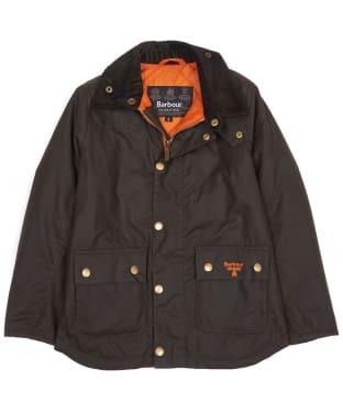 Boy's Barbour Stybarrow Waxed Jacket, 2-9yrs