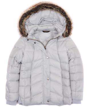 Girl's Barbour Bernera Quilted Jacket, 10-15yrs - Ice White
