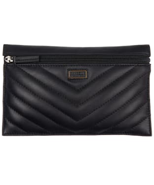 Women's Barbour International Velencia Pouch - Black