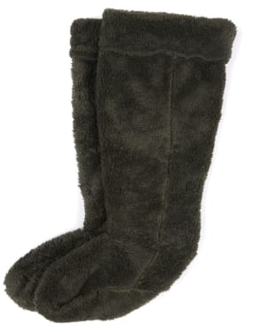 Women's Barbour Bede Fleece Wellington Socks - Olive