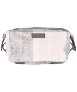 Women's Barbour Tartan Wash Bag